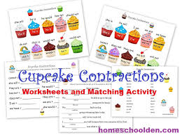 Contractions List Printable Worksheets | Homeshealth.info