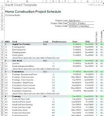 home construction schedule template excel construction schedule template excel free download construction