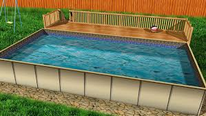 in ground pools rectangle. Hercules Above And Semi Inground Swimming Pools Are Temporary Structures Do Not Require Cement To Install. As Such, They Subject The In Ground Rectangle