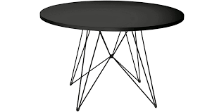 black round table. XZ3 Round Table Black A