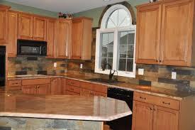 Granite Countertops And Backsplash Ideas Interesting Inspiration Ideas