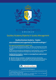 qualitas academy diploma in quality management en  2 qualitas academy diploma in quality management