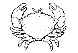 1414 65 sea creature templates printable crafts & colouring pages on easy crab coutout templates