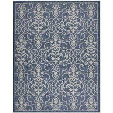 country side denim 10 ft x 13 ft indoor outdoor area rug