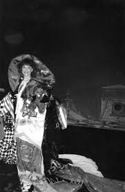 Wearing the Gypsy Robe on opening night of Meet Me in St. Louis ...