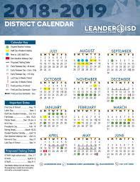 Calnedar District Calendar