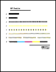Small Picture HP DeskJet 950C Series Printer How to Print a Test Page HP