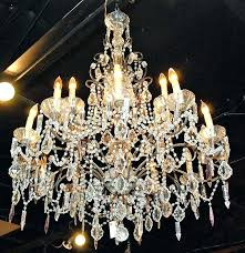 old crystal chandeliers for old crystal chandeliers for s used crystal chandeliers for