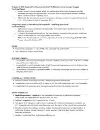Resume For Scholarship Examples Application How To Write A