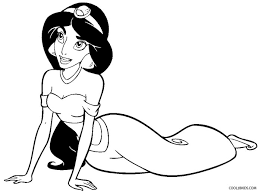 Small Picture Printable Jasmine Coloring Pages For Kids Cool2bKids