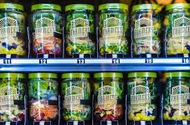 Healthy Food Vending Machines Stunning Airport Vending Machines Help Pax Fuel Up With Healthy Salads And