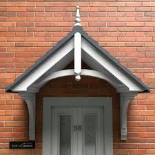 front door canopyTraditional Door Canopies  Maintenance Free