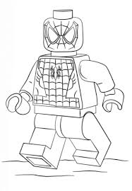 Lego Spiderman Coloring Page Visit To Grab An Amazing Super Hero