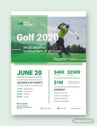 Golf Tournament Flyer Template How To Make A Golf Tournament Flyer 15 Templates Free