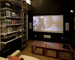 Great At First Sight This Home Theater Doesnu0027t Look Like Itu0027s Housed In A Bedroom.  But It Is. This Multifunctional Space Also Serves As A Library And A Guest  ...
