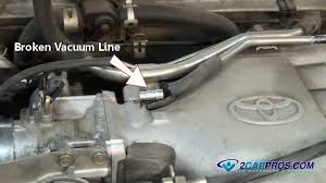 how to find a vacuum leak
