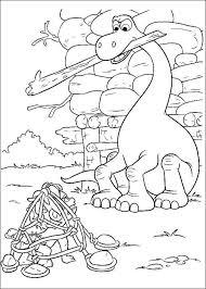 Dino Kleurplaat A4 Tropicalweather