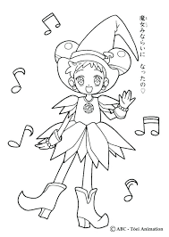 Magical Doremi Coloring Pages Dancing Coloring Page Characters