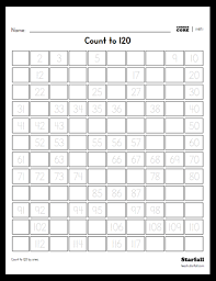 Blank 120 Chart Printable Starfall Education Free Resources