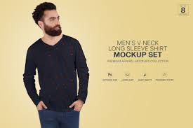 By simply pasting your graphic into the smart object layer, photoshop will. Men S Crew Neck Shirt Mockup Set In Apparel Mockups On Yellow Images Creative Store