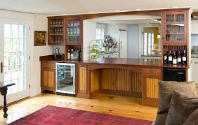 Custom home bar Bar cabinetry