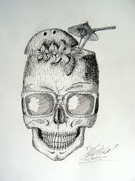 Tetování Lebka Tetování Tattoo