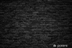 black brick wall dark background for