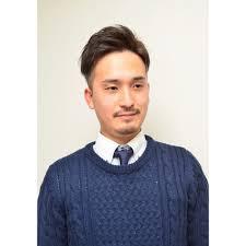 短髪ツーブロック束感ビジネスショートスタイル Mens Salon Seven