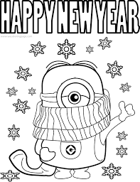 Our free coloring pages for adults and kids, range from star wars to mickey mouse. Happy New Year 2020 Coloring Pages Coloring Home