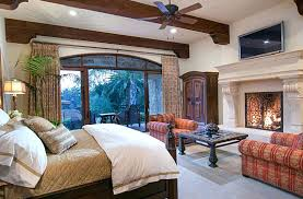 master bedroom ideas with fireplace. Interesting Fireplace Bedroom With Fireplace Luxury Master Stone Wood Beam  Ceilings And Outdoor Balcony  White Gray  And Master Bedroom Ideas With Fireplace