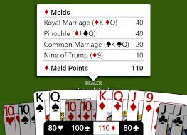 double deck pinochle meld chart pinochle basics