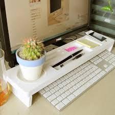 creative office supplies. Desk Storage Shelf Desktop Organizer Creative Office Supplies Computer Keyboard B