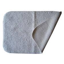 bagma white anti slip bath rug size 20x30 inches