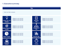 executive business plan template download a simple business plan template by ex mckinsey consultants