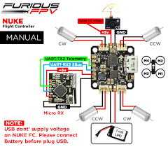 furious nuke brushed micro flight controller helipal connection diagram spektrum receivers