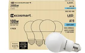 Light Bulb Brightness The Home Depot