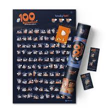 <b>Интерактивный</b> скретч <b>постер</b> #100 BUCKETLIST KAMASUTRA ...