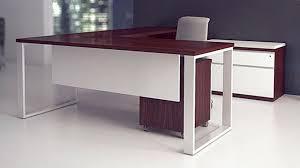 L Shaped Modern Desk Modern At Two L Shaped Desk Biedermeier Cherry Zuri Furniture