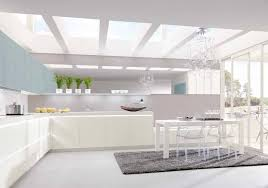 interior design kitchen white. Surprising Kitchen Design At Home : Sparkling White Interior