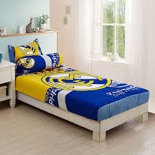 single size set fitted bedsheets thick fabric real madrid 11street malaysia bed sheet