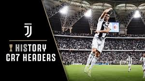 CRISTIANO RONALDO HEADED GOALS!   HIStory: CR7 HELPS JUVENTUS WIN SUPER CUP  - YouTube