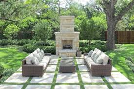 patio stones with grass in between. Interesting Stones This Patio Is Constructed From A Number Of Square Stone Slabs Lined With  Patches Grass On Patio Stones With Grass In Between I