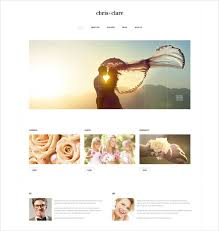 Wedding Website Templates Extraordinary 28 Wedding Website Themes Amp Templates Free Premium Templates