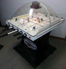 super che bubble hockey arcade game