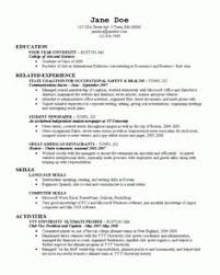 ... Crafty College Grad Resume 12 Good Resume Examples For College Students  Sample Resumes ...