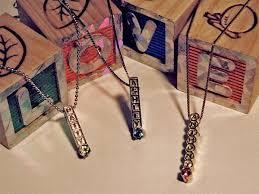ann arbor custom baby birthstone necklace created by urban jewelers