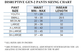 Pants Size Conversion Charts Size Guide For Men Women
