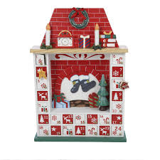 kurt s adler 15 inch wooden chimney advent cal