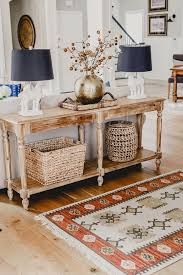 Best Sofa Table Styling Ideas On Pinterest Entry Table