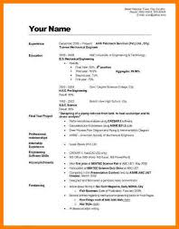 make a complete resume - A Complete Resume